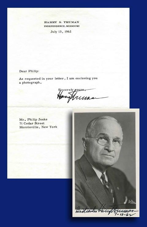 Harry Truman greeting